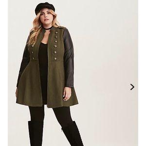 NWT Torrid Military Jacket